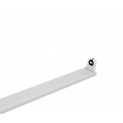 Φωτιστικό Οροφής Σκαφάκι μονό 150cm για 1 λαμπτήρα T8  LED single end