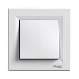 Διακόπτης Απλός 10A Λευκός ASFORA SCHNEIDER